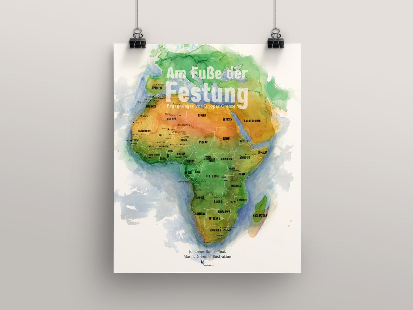 am-fusse-der-festung_poster_illustration_grafik_design_marina_grimme_augsburg